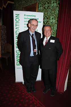 Ewing Foundation Trustee Lord Wilson (left) and Chairman Hamish McAlpine